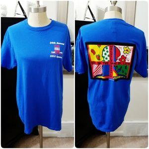 St. Jude | 2015 Blue Peoria Run Sponsor T-Shirt